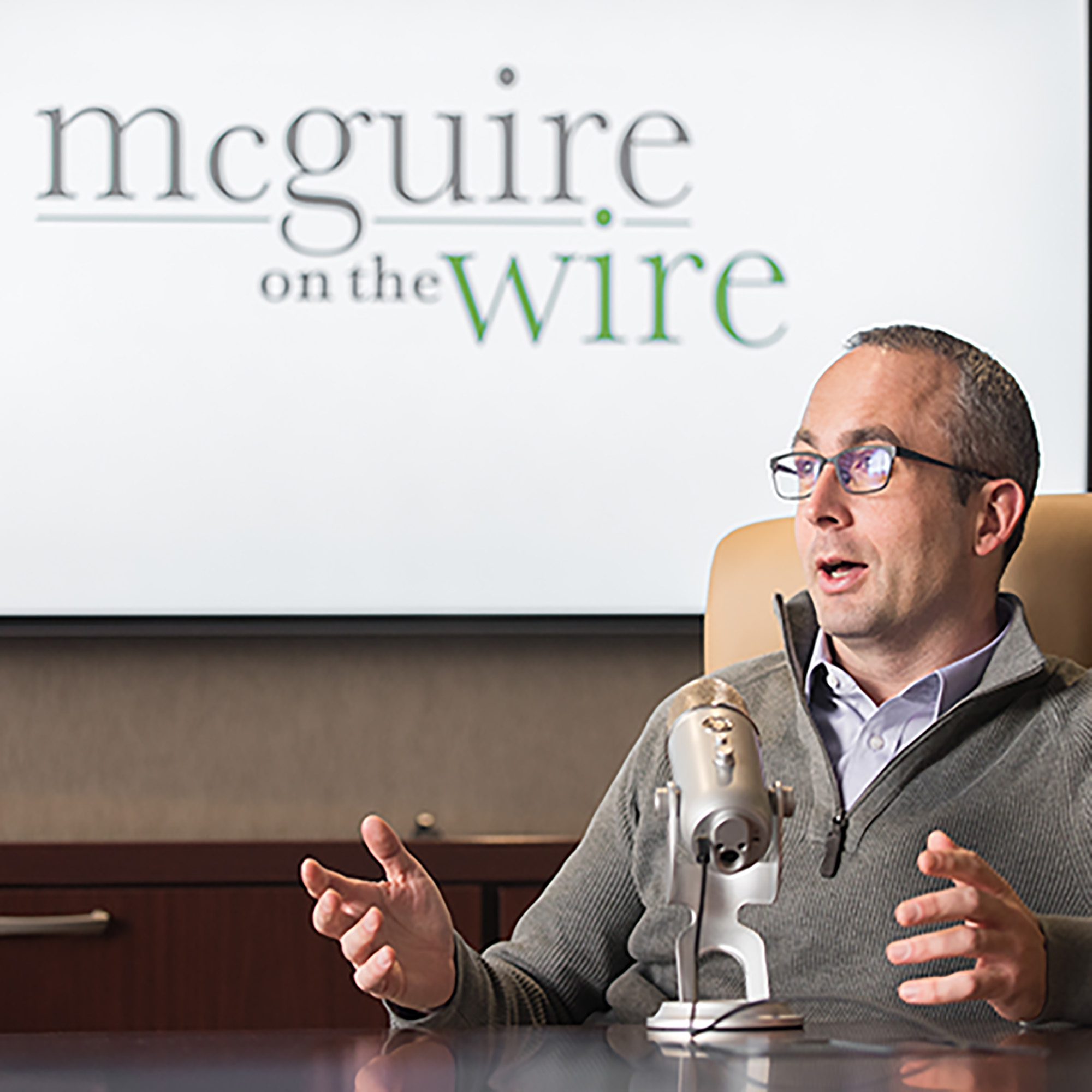 McGuire on the Wire show art