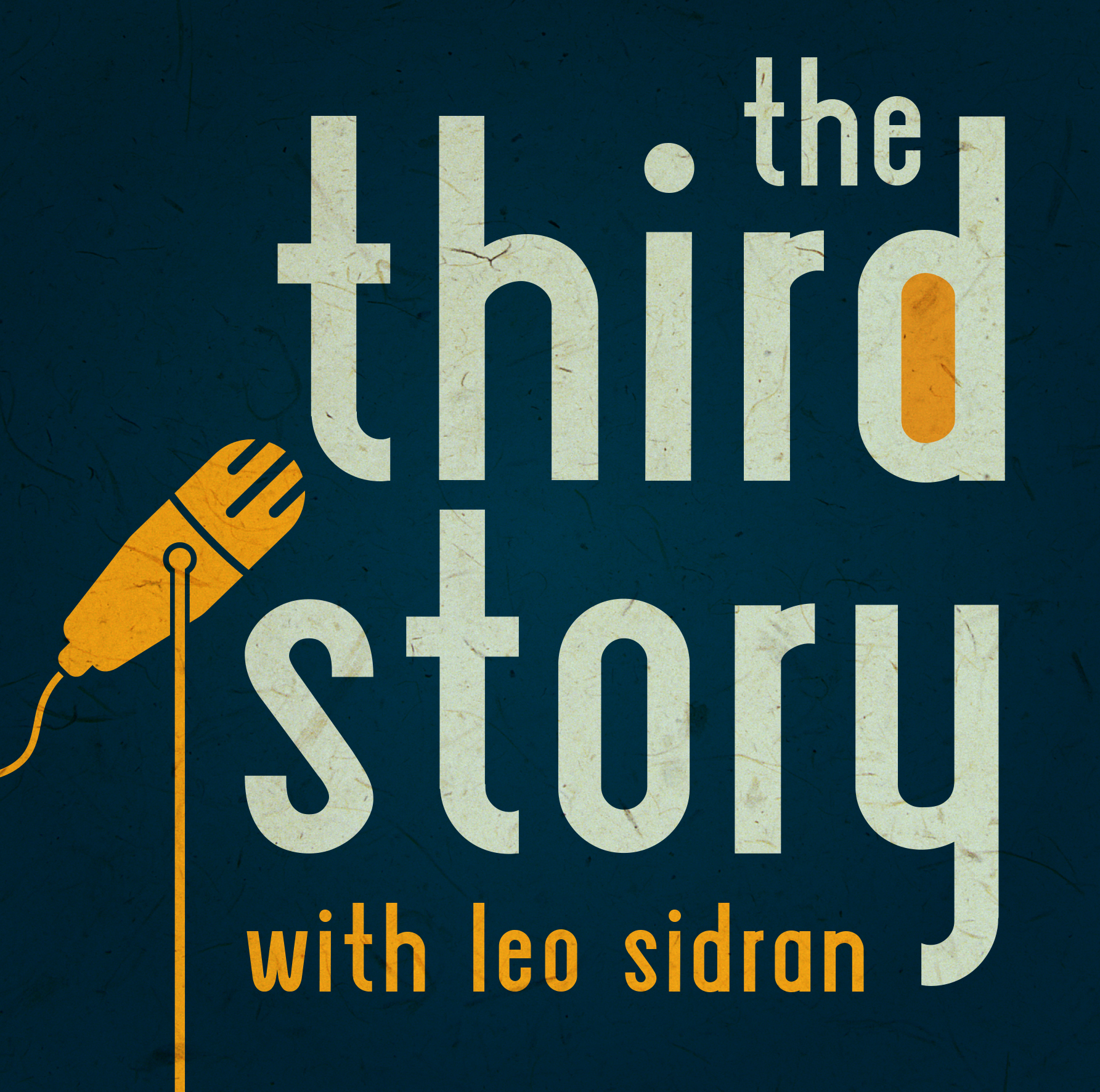 The Third Story Podcast with Leo Sidran show art