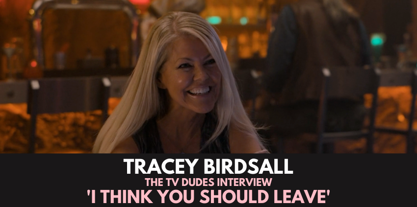 Tracey Birdsall, 'I Think You Should Leave' - The TV Dudes Interview show art