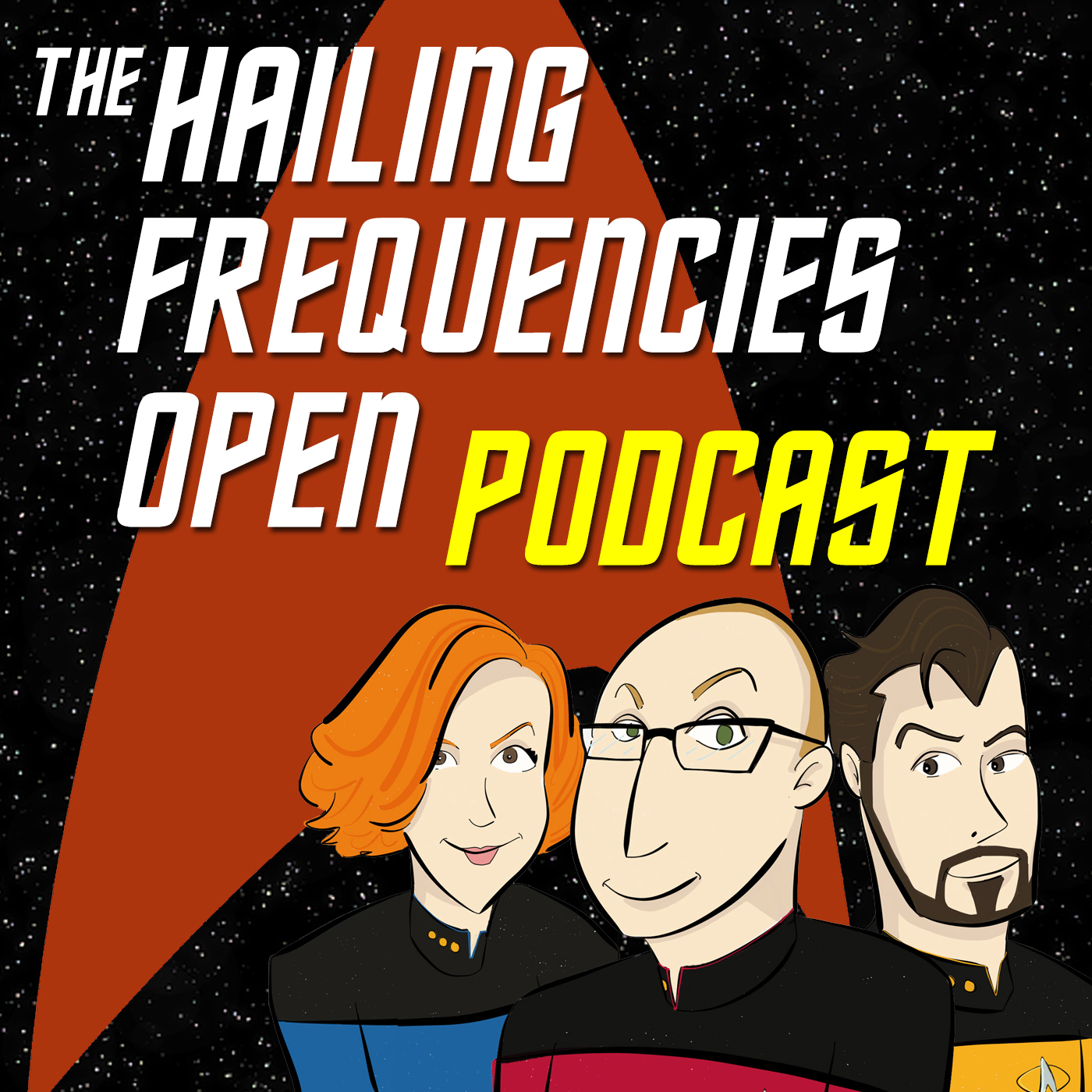 HFO Podcast Ep. #26 TNG Rewatch: Skin of Evil show art