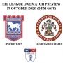 Artwork for Episode 186: Ipswich Town vs Accrington Stanley Preview