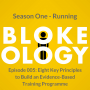 Artwork for Episode 005: Eight Key Principles to Build an Evidence-Based Training Programme