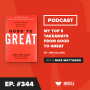 Artwork for Book Club: My Top 5 Takeaways from Good to Great by Jim Collins
