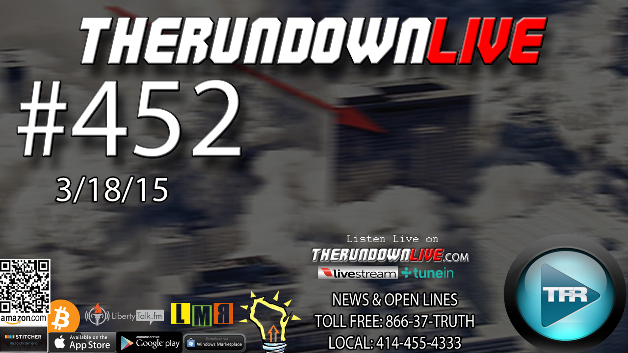 The Rundown Live #452 Open Lines (Everything Fake,Drones,Designer Babies)