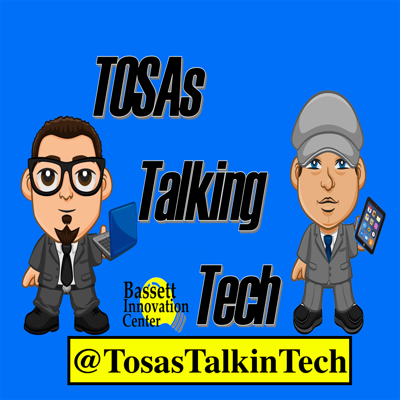 TOSAs Talking Tech's Podcast show art