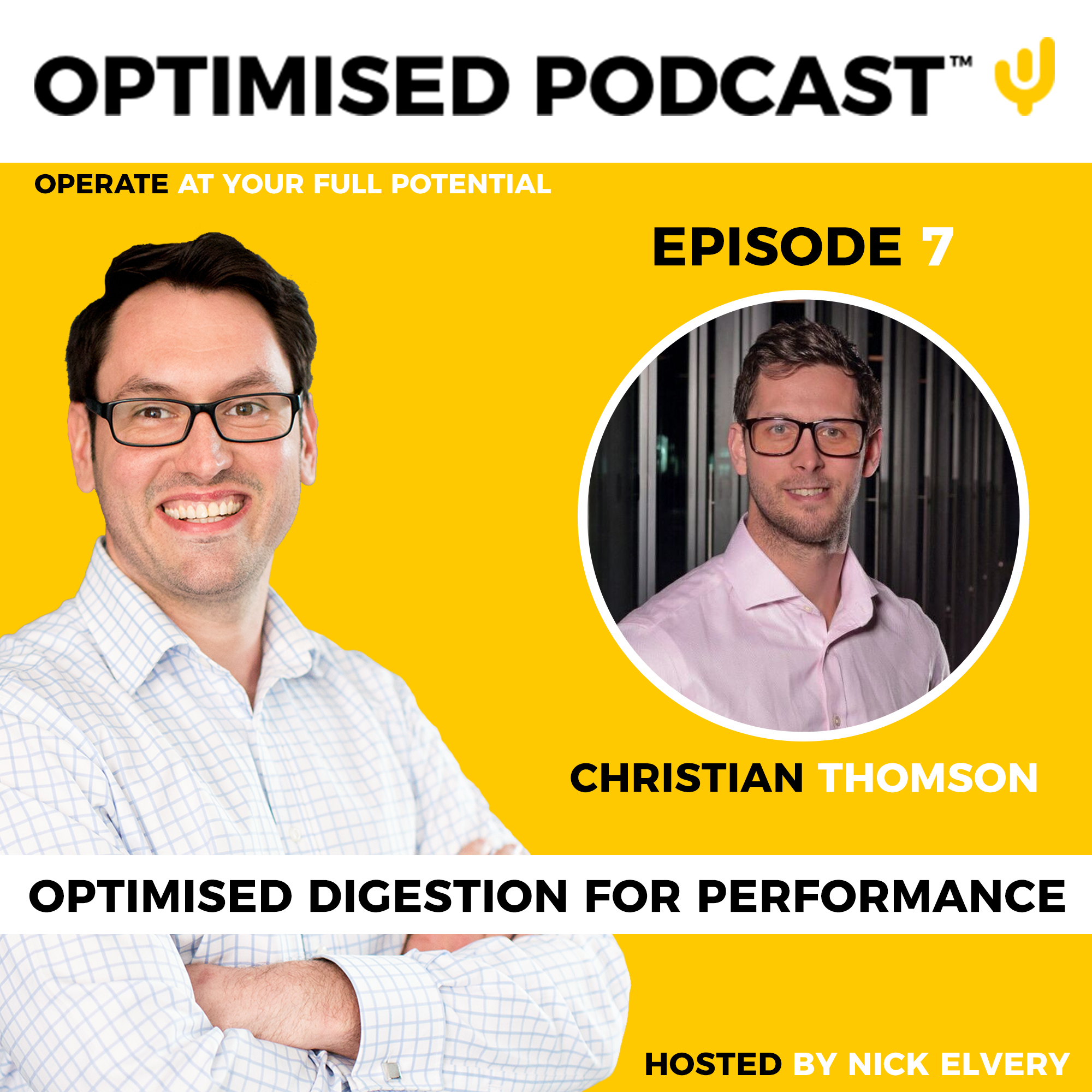 #7 - Optimised gut health and digestion for performance with Nick and Chris