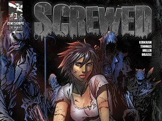 Tyler Kirkham's SCREWED Published By Zenescope
