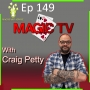 Artwork for Ep149: Magician's Advice with Craig Petty, Magic TV.