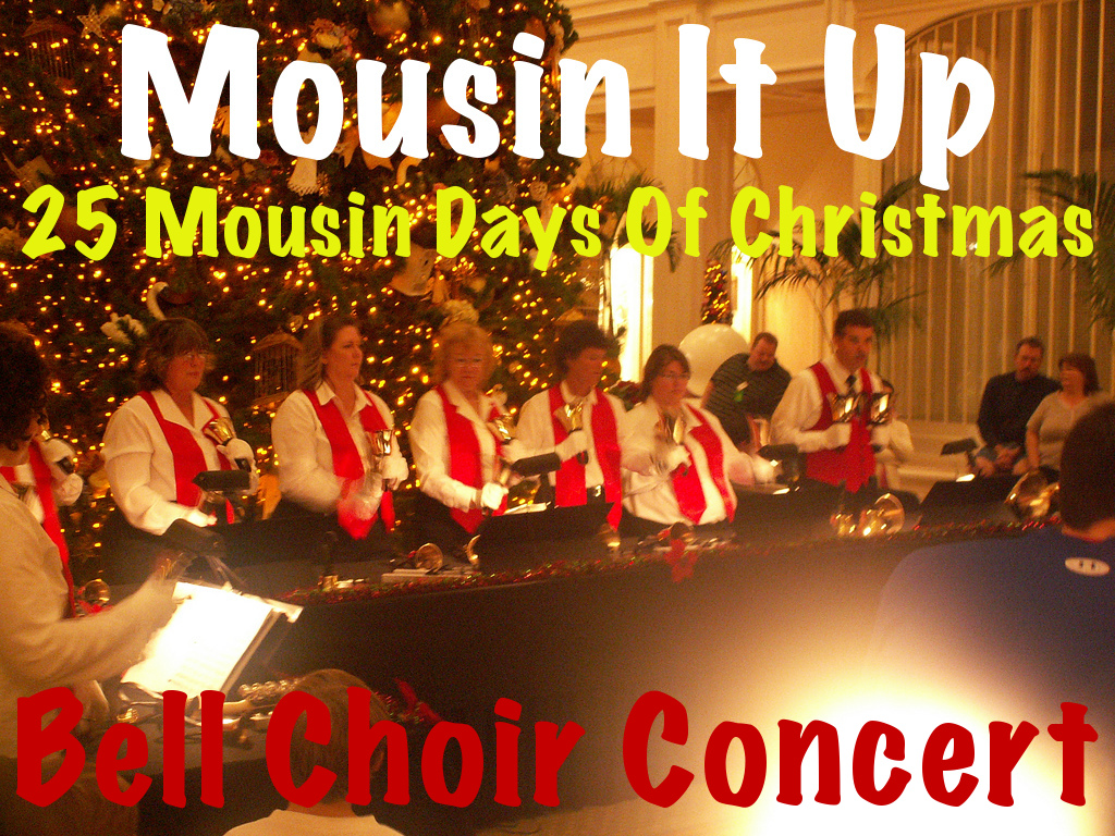 25 Mousin Days of Christmas - Grand Floridian Bell Choir Christmas Concert