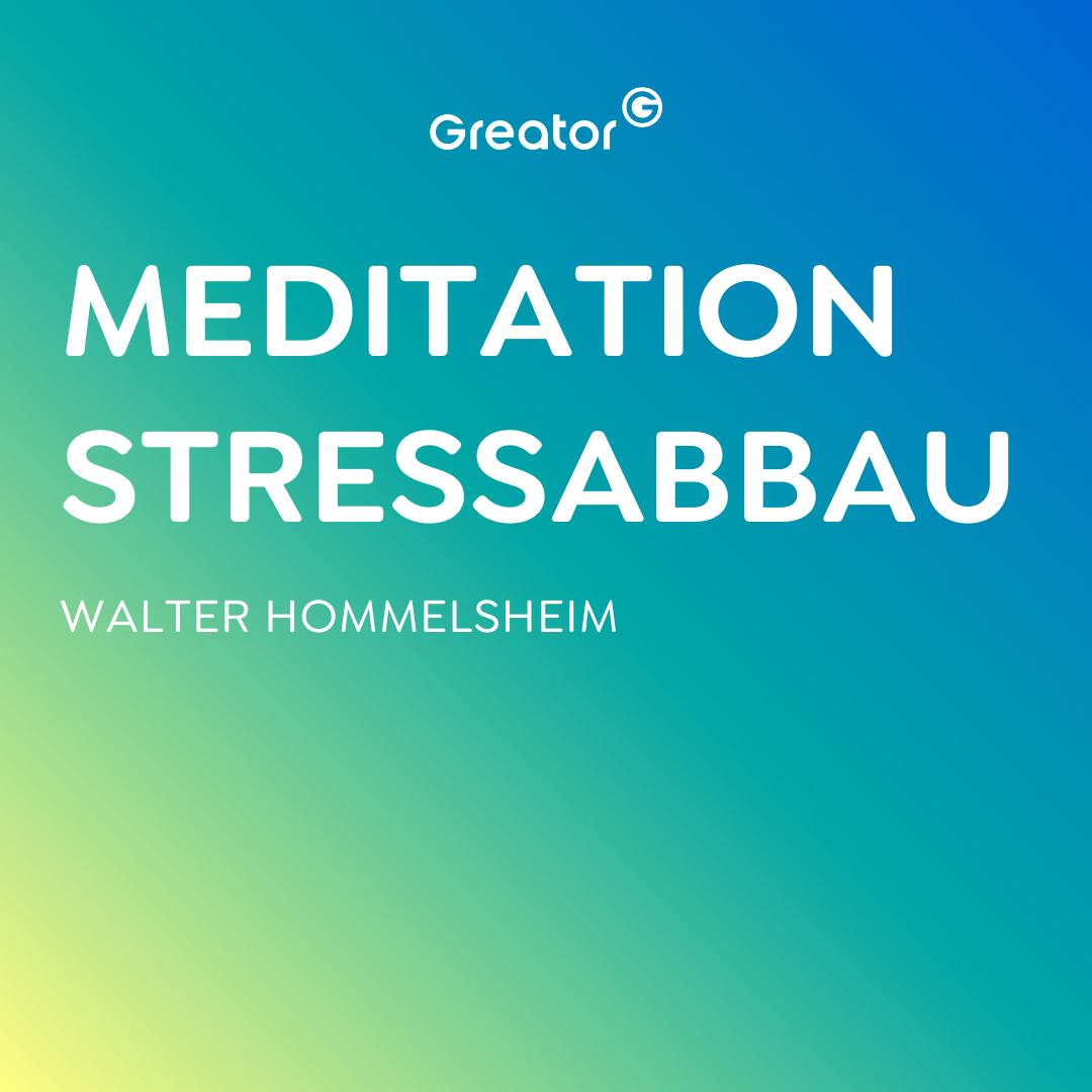 #799 Einfache geführte Meditation gegen Stress | 10 Minuten