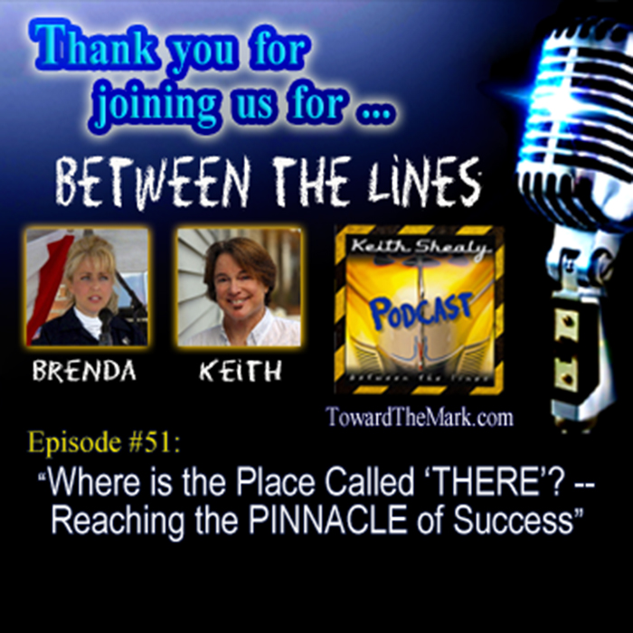 TTM051-Where is the Place called THERE? -- Reaching the PINNACLE of Success