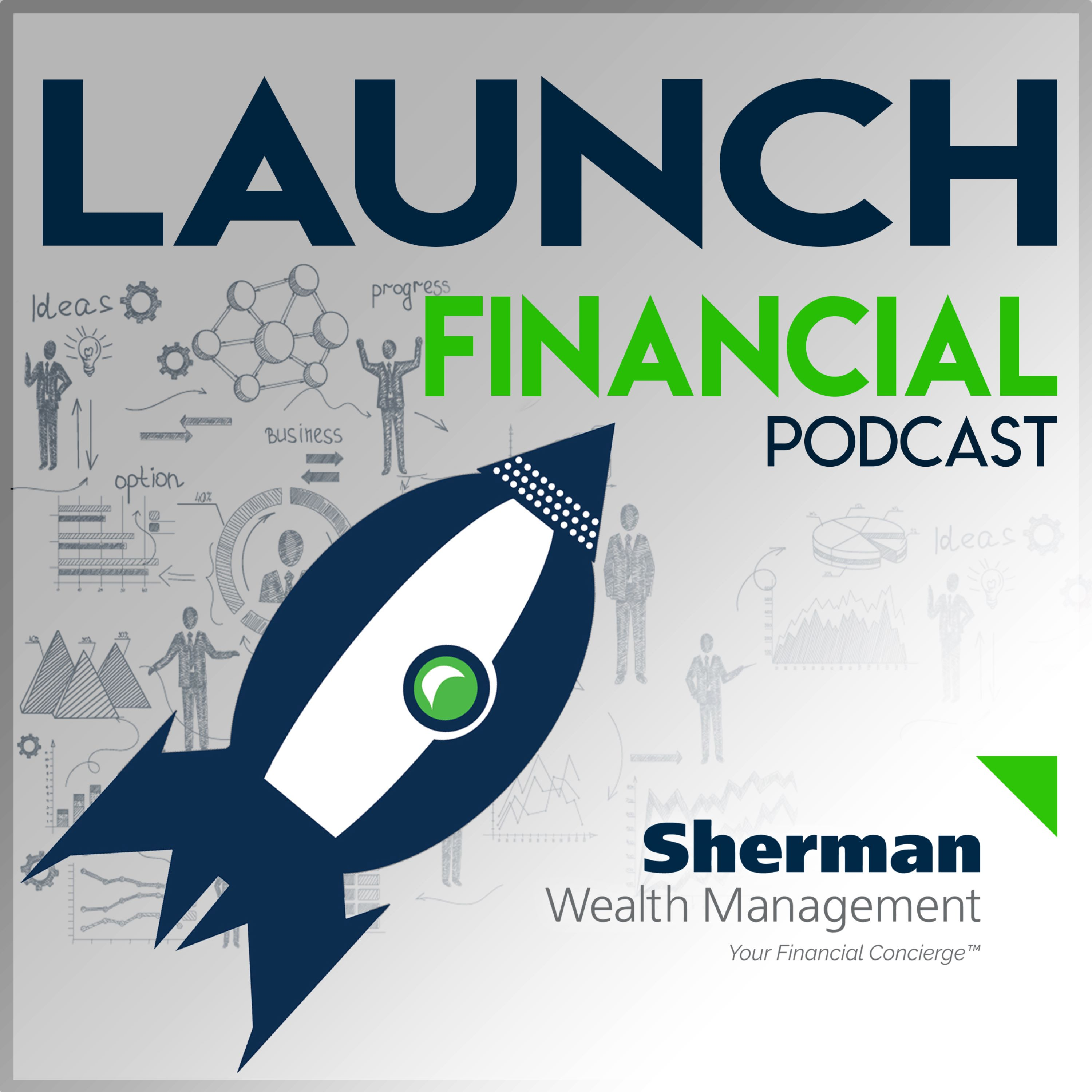 Launch Financial - Stimulus Bill Podcast show art