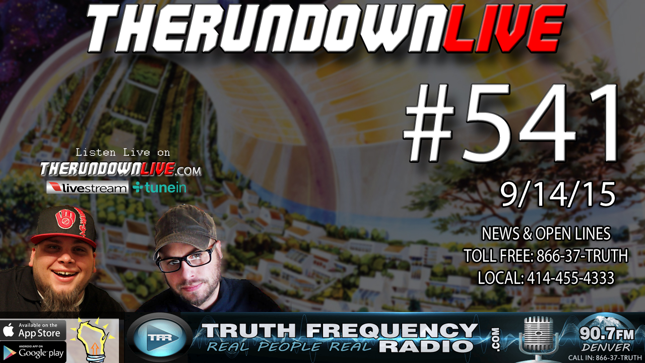 The Rundown Live #541 (Sci-Fi Distopia,Election 2016,War on Police)