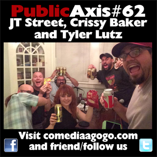 Public Axis #62: JT Street, Crissy Baker and Tyler Lutz