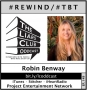 Artwork for The Liars Club Oddcast # 149 | #tbt Rewind - Robin Benway, NY Times Bestselling Author and National Book Award Winner