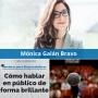 Artwork for Cómo hablar en público de forma brillante, con Mónica Galán Bravo - MPE029 - Mentores para Emprendedores