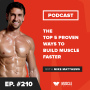 Artwork for The Top 5 Proven Ways to Build Muscle Faster