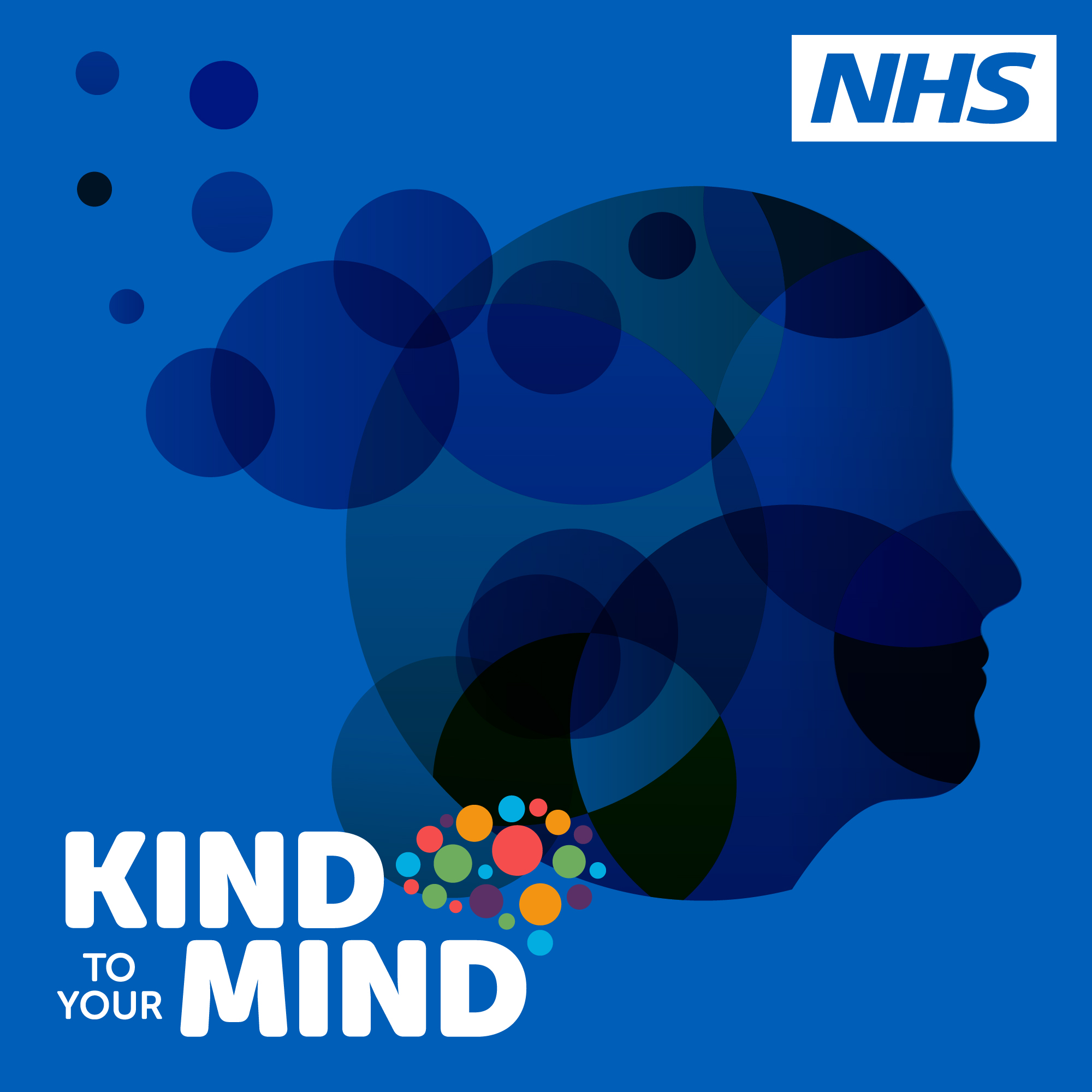 NHS Kind to Your Mind show art