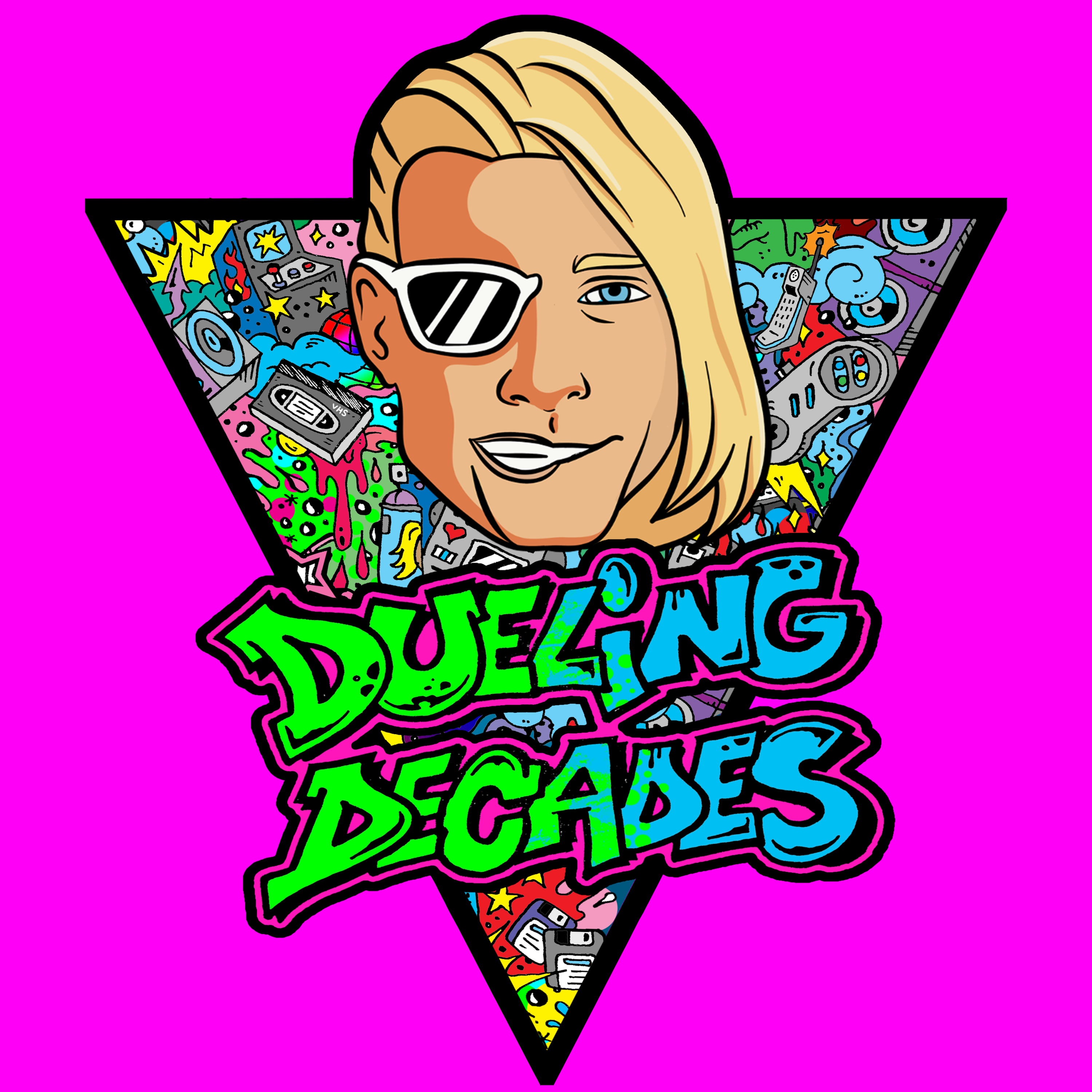 Dueling Decades show art