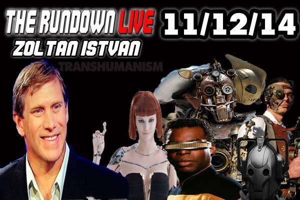 The Rundown Live #374 Zoltan Istvan (Technology,Transhumanism,Future)
