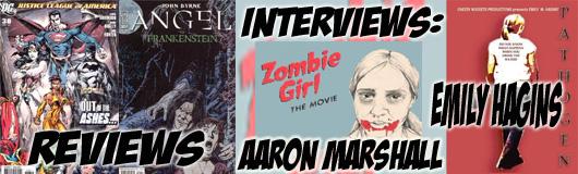 Episode 228 - Happy Halloween with Emily Hagins (Pathogen) and Aaron Marshall (Zombie Girl)