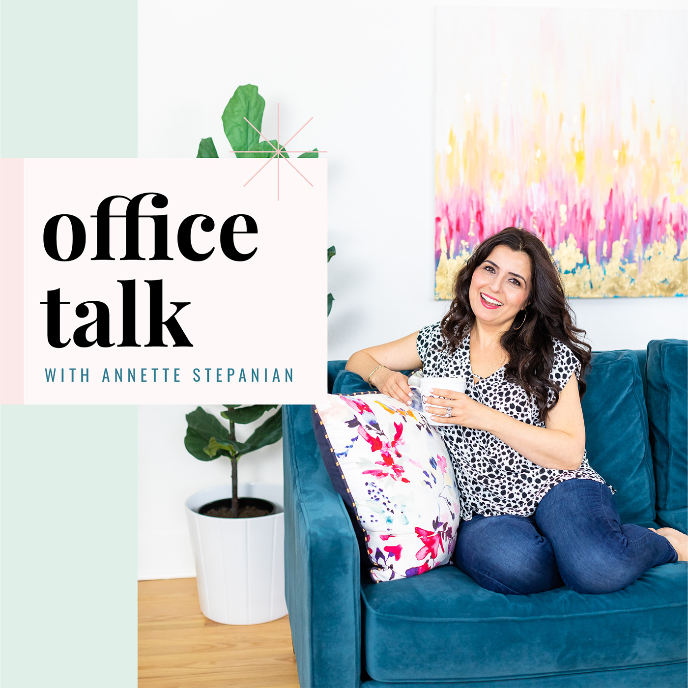 Office Talk with Annette Stepanian show art