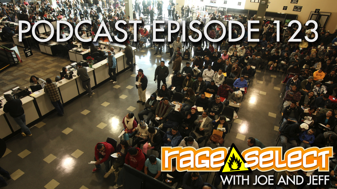 Rage Select Podcast Episode 123 - Jeff and Joe Answer Your Questions!