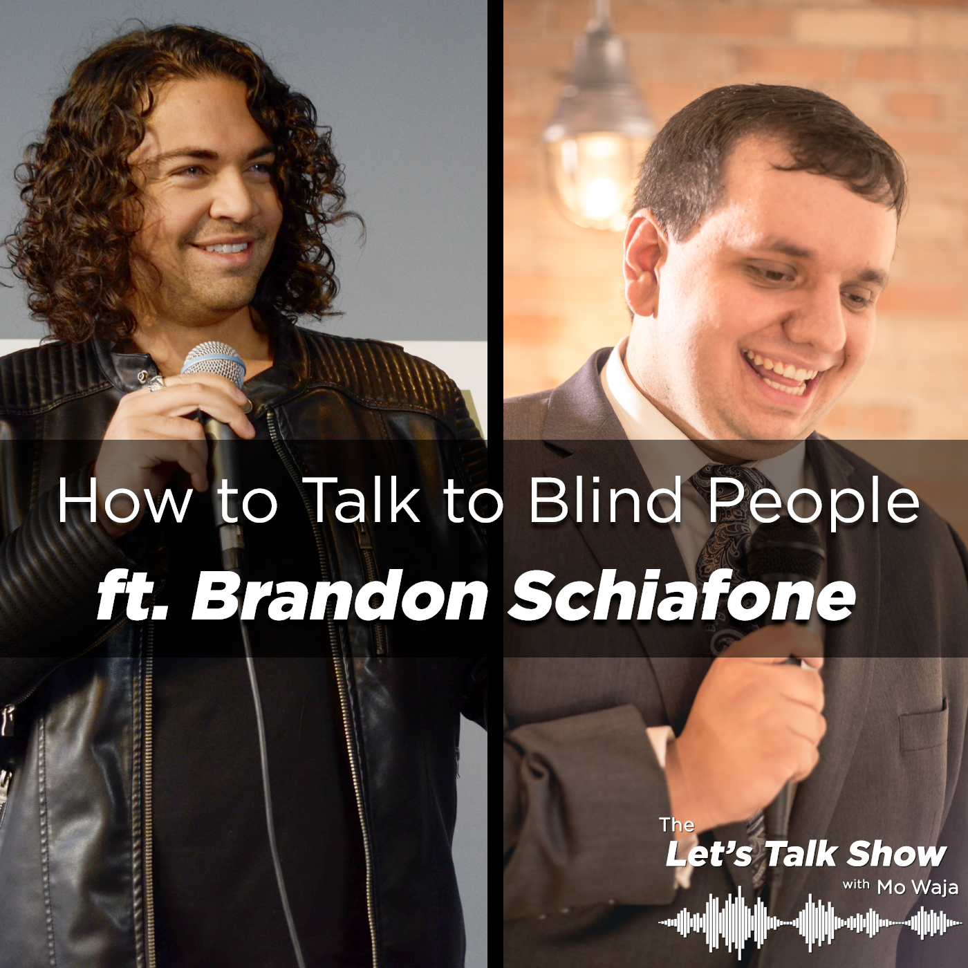 Artwork for How to Talk to Blind People ft. Brandon Schiafone, Host of TEDxNewmarket