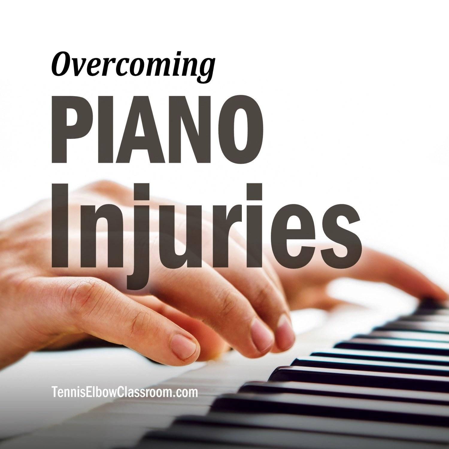 Piano Injuries Podcast Cover
