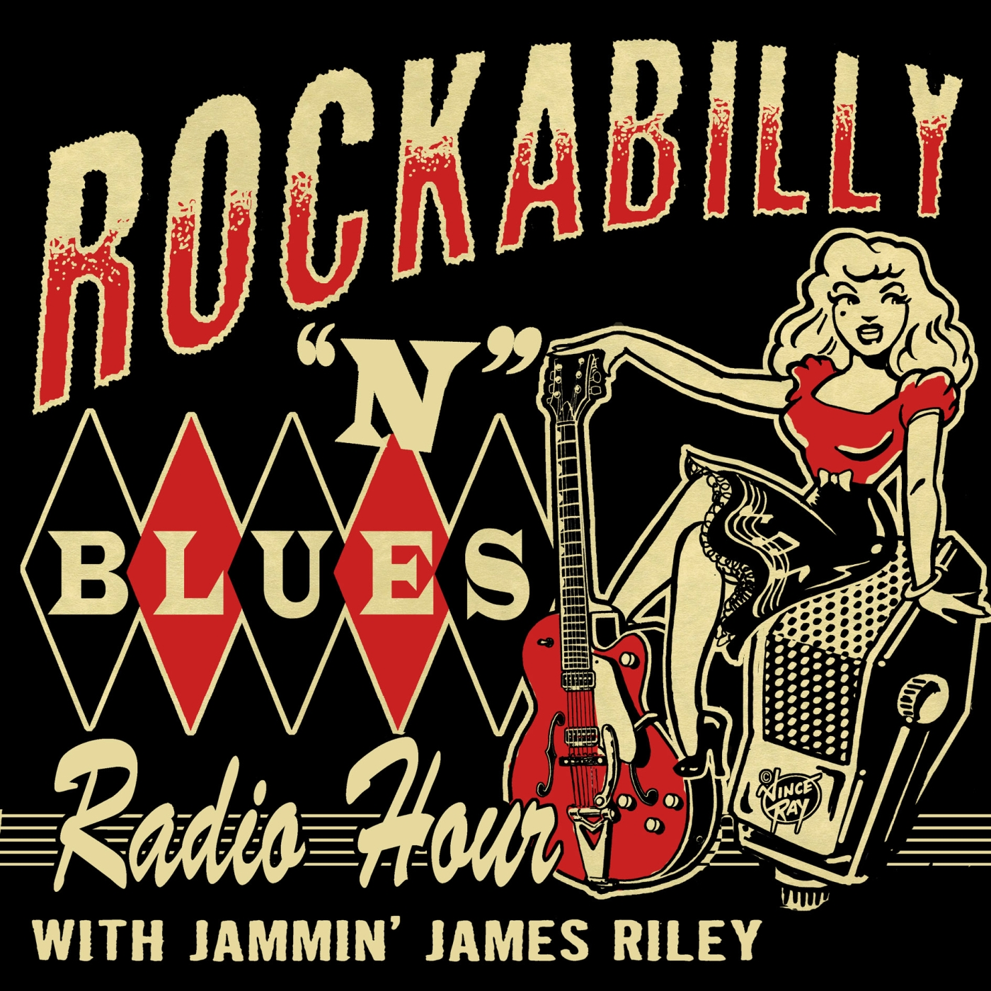Artwork for Annual Christmas Show/ Rockabilly N Blues Radio Hour 12-23-19