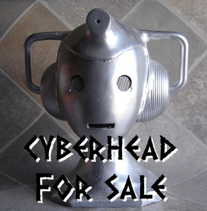 TDP EXTRA: Cyberhead for sale