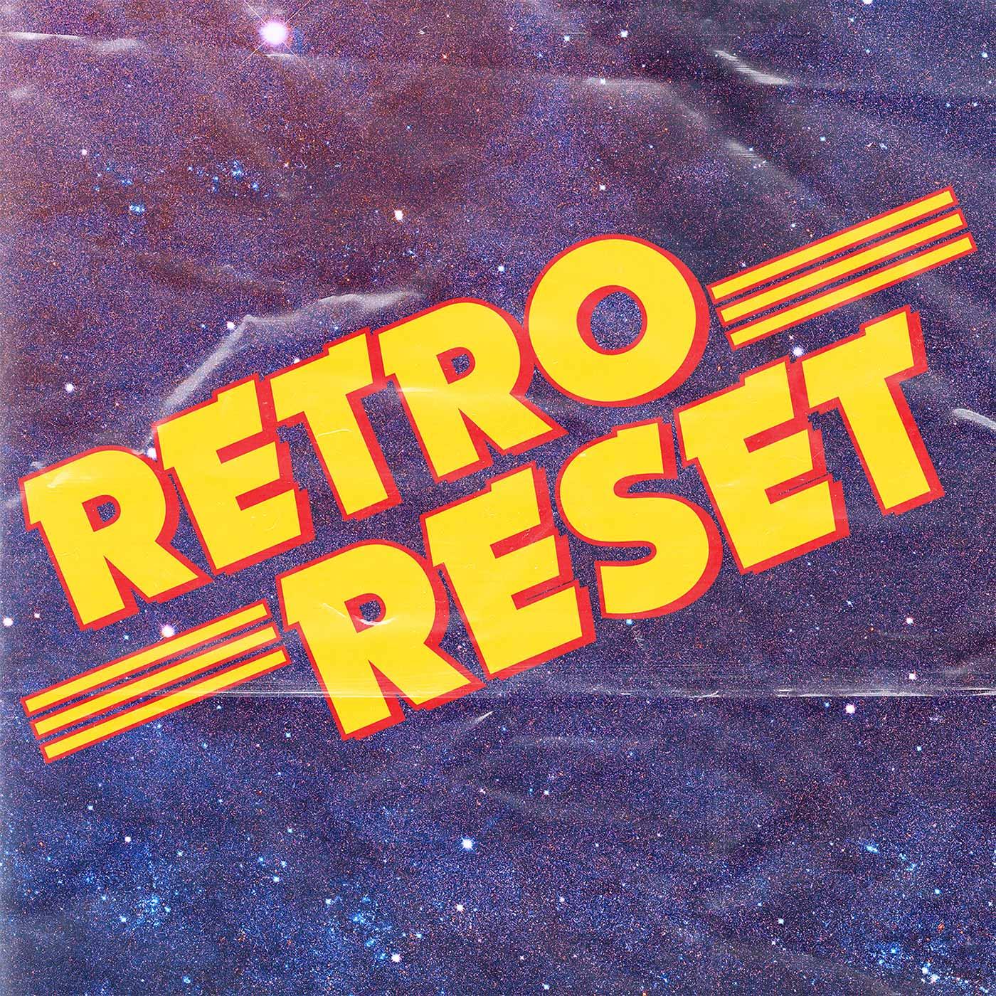 Retro Reset show art