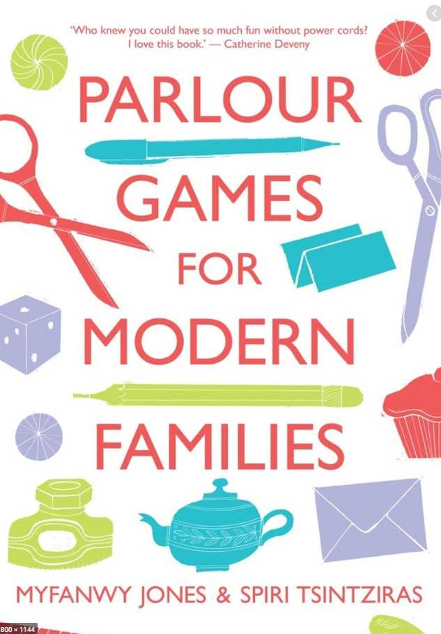 Parlour Games for Modern Families cover