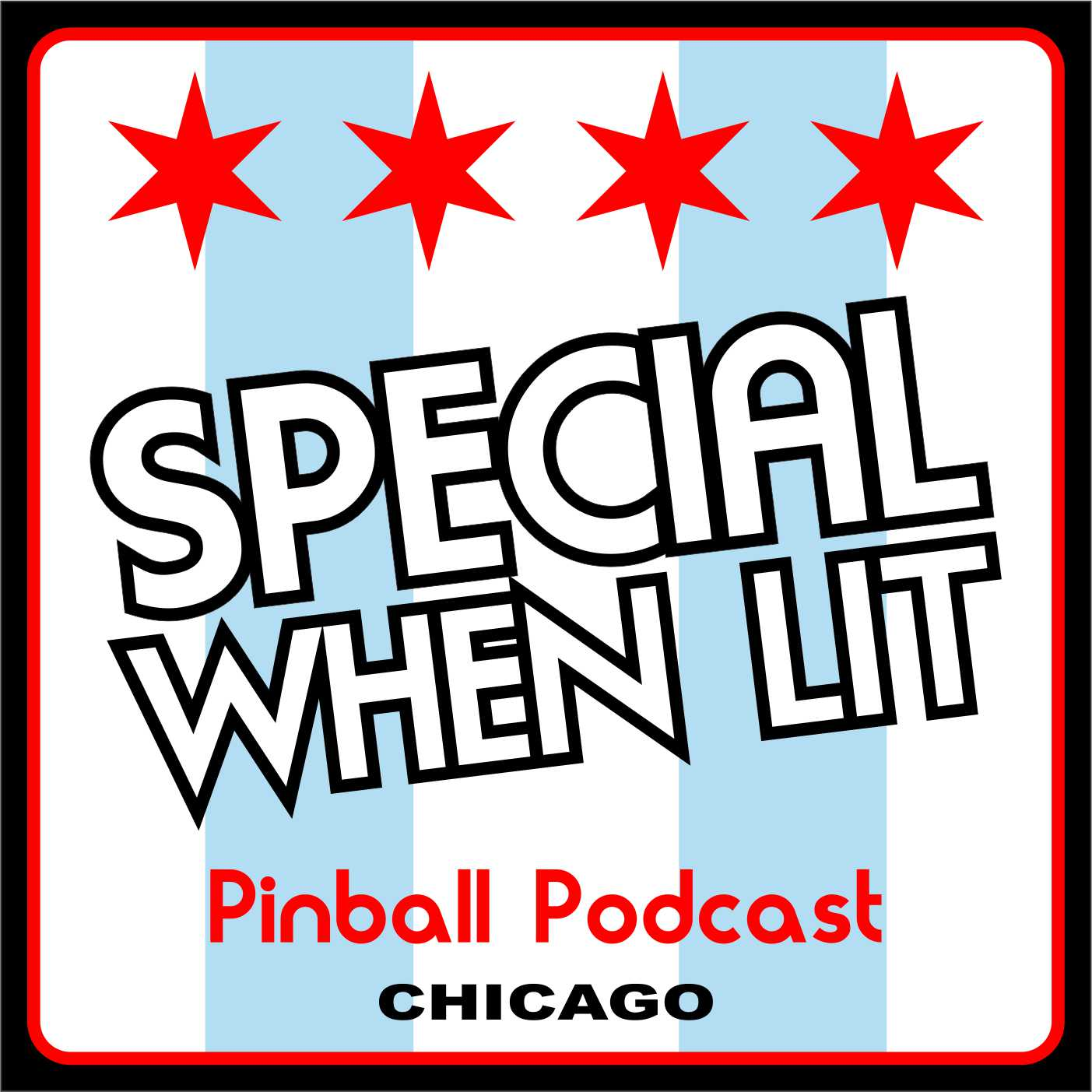 Special When Lit Pinball Podcast show art