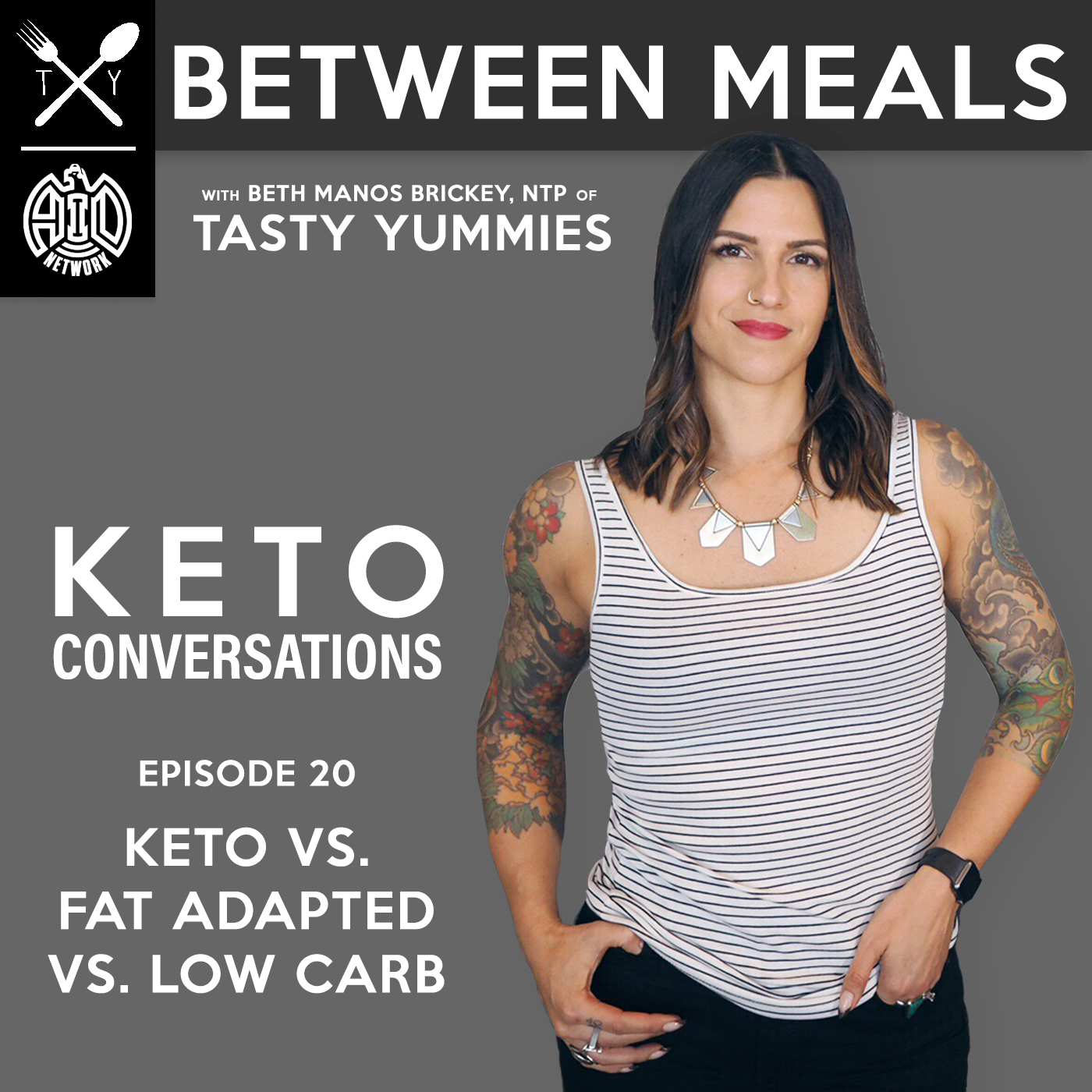 Artwork for No. 20 | Keto vs. Fat Adapted vs. Low Carb
