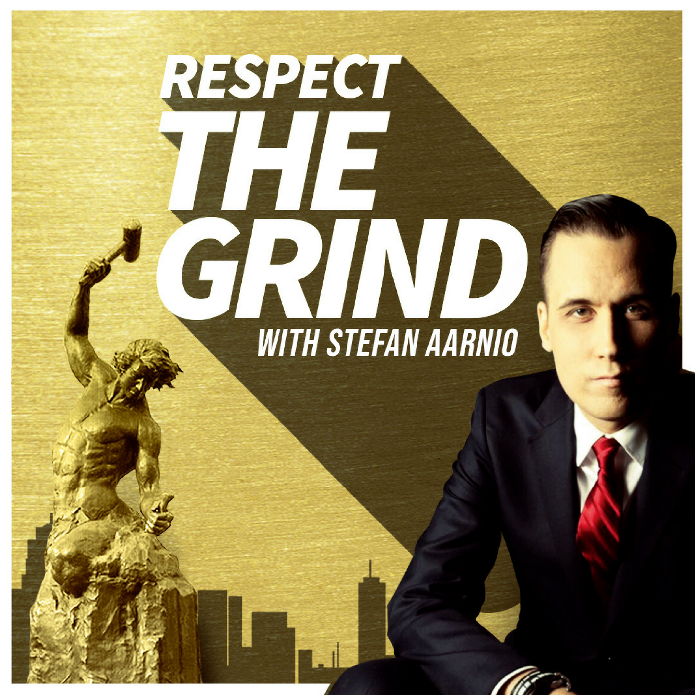 Respect The Grind with Stefan Aarnio show art