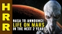 Artwork for NASA to announce LIFE on Mars in the next 2 years