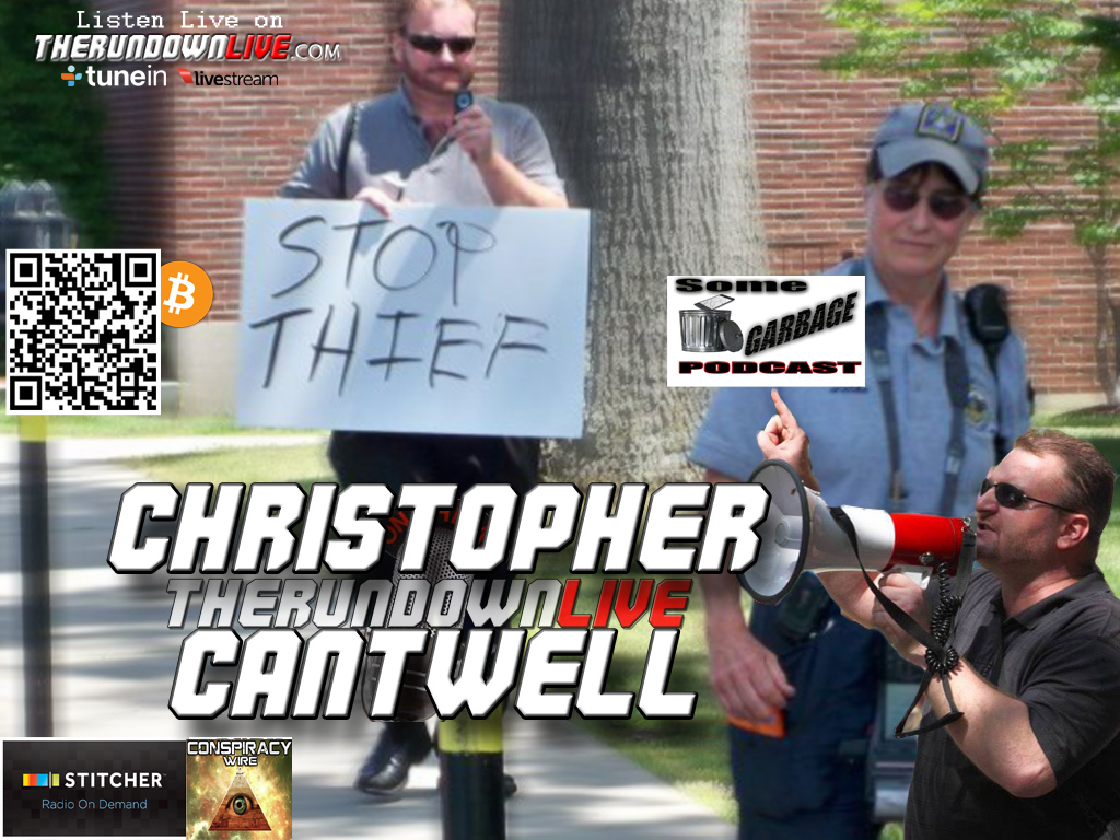 The Rundown Live #382 Christopher Cantwell (Colbert Report,Free State,#Ferguson)