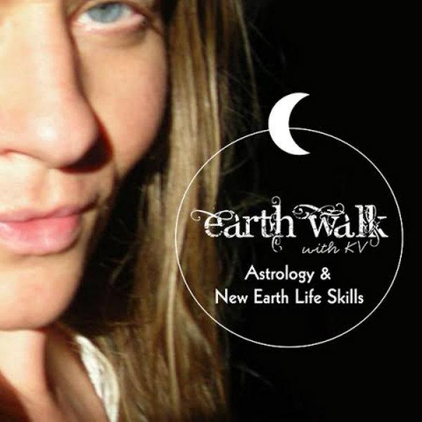 Earth Walk with KV logo