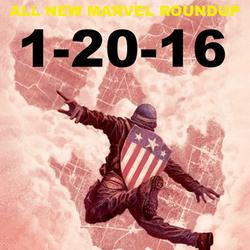 Jan 20, 2016 All New Marvel Roundup