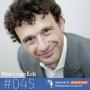 Artwork for #045 Marc van Eck - Waarom we bij plannen maken wat vaker 'kiespijn' moeten hebben