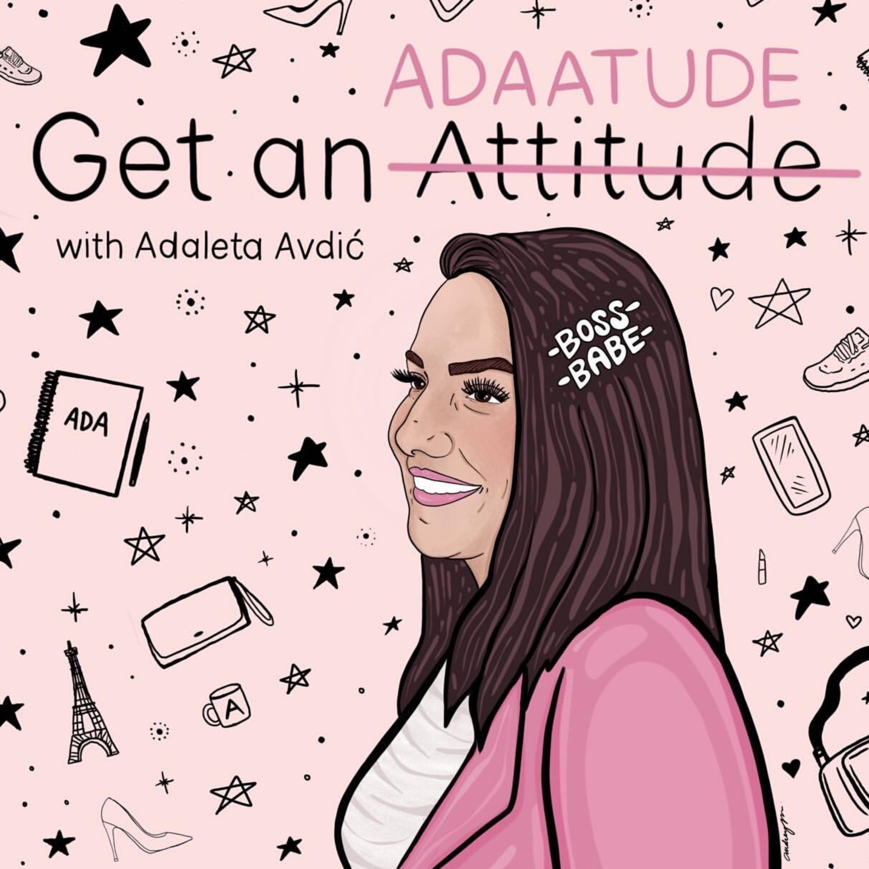 Get an Adaatude Podcast show art