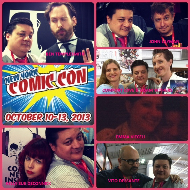 Episode 502: NYCC Recap with Ben Templesmith/Kelly Sue DeConnick/John Layman/Emma Vieceli and more!