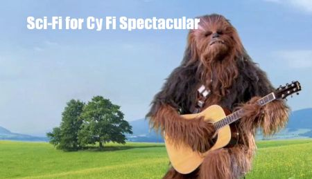 Episode 272 - Sci Fi for Cy Fi Spectacular - Music, costumes, ray guns, robots, all for a good cause!