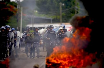 Honduras - Karen Spring; the popular resistance and military repression