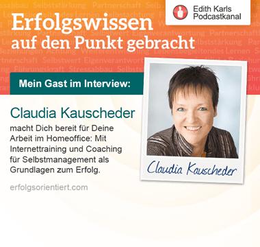 122 - Im Gespräch mit Claudia Kauscheder