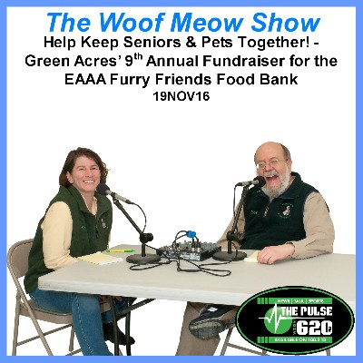 Help Keep Seniors & Pets Together! -  Green Acres' 9th Annual Fundraiser for the EAAA Furry Friends Food Bank