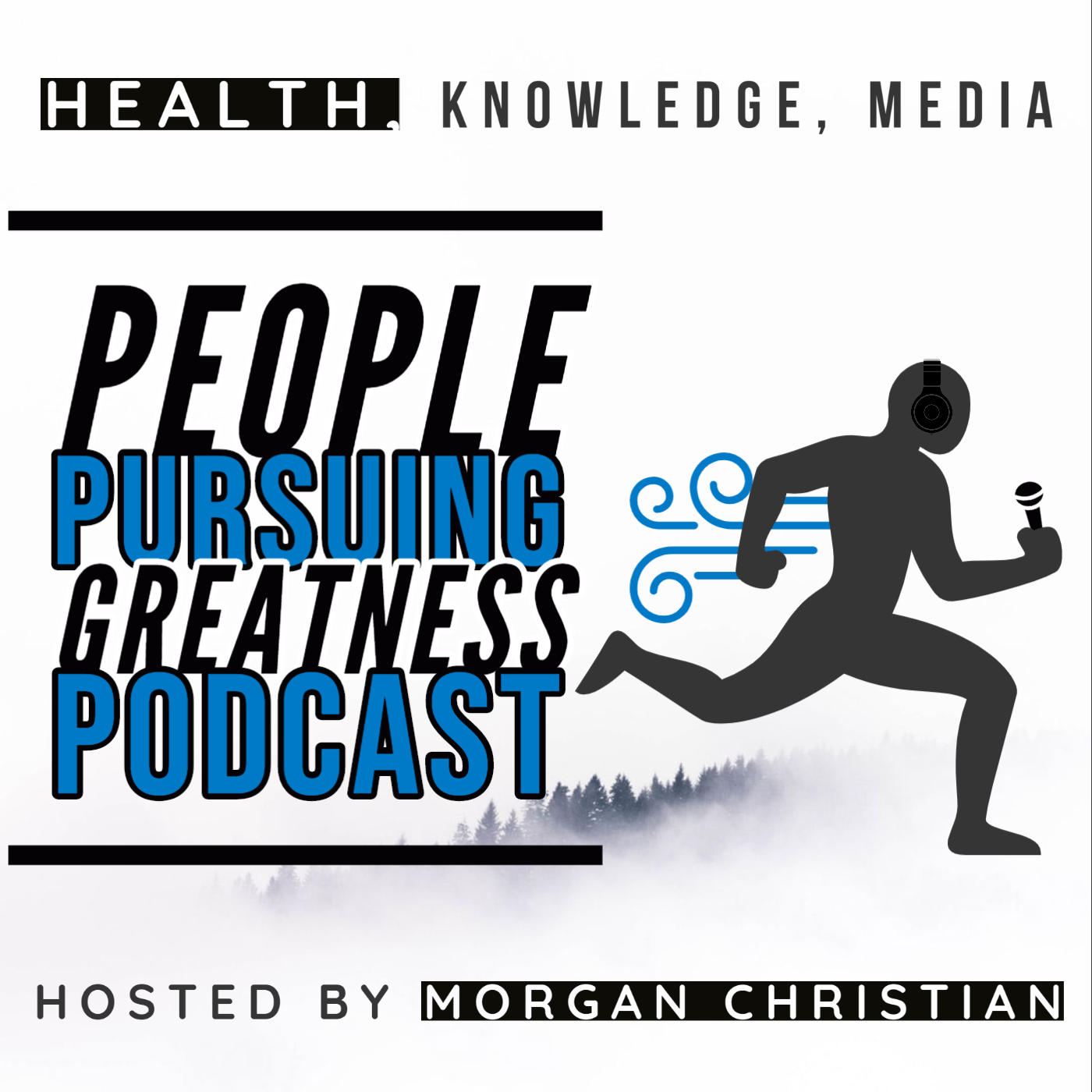 Interviews with People Pursuing Greatness show art