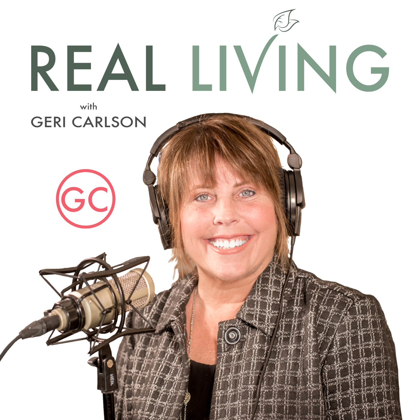 REAL Living with Geri Carlson show art