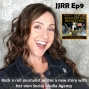 Artwork for JJRR Ep9 Rock n roll journalist writes  a new story with her own social media agency